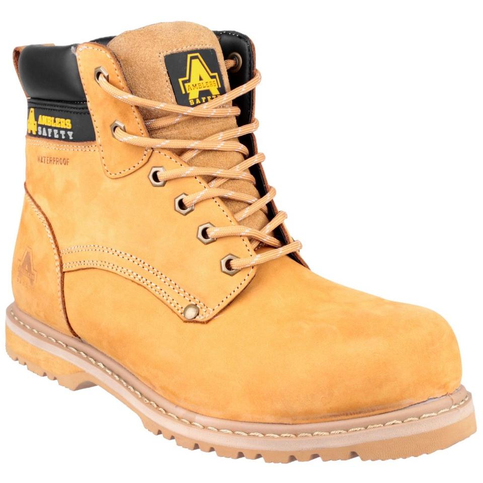 03b7deefb0f Amblers Safety FS147 Injected Welted WP Safety Boots