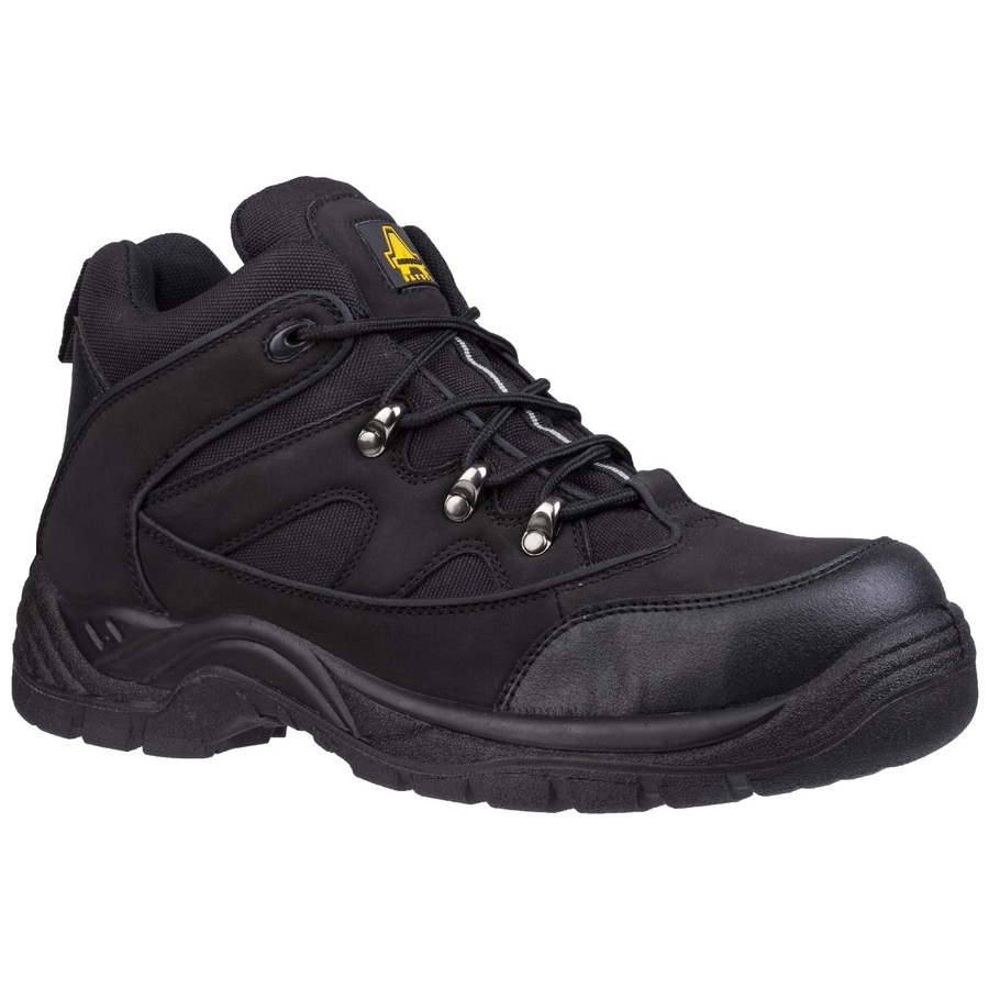 69e6d22f789 Amblers Safety FS151 Black Mid Boot SB-P