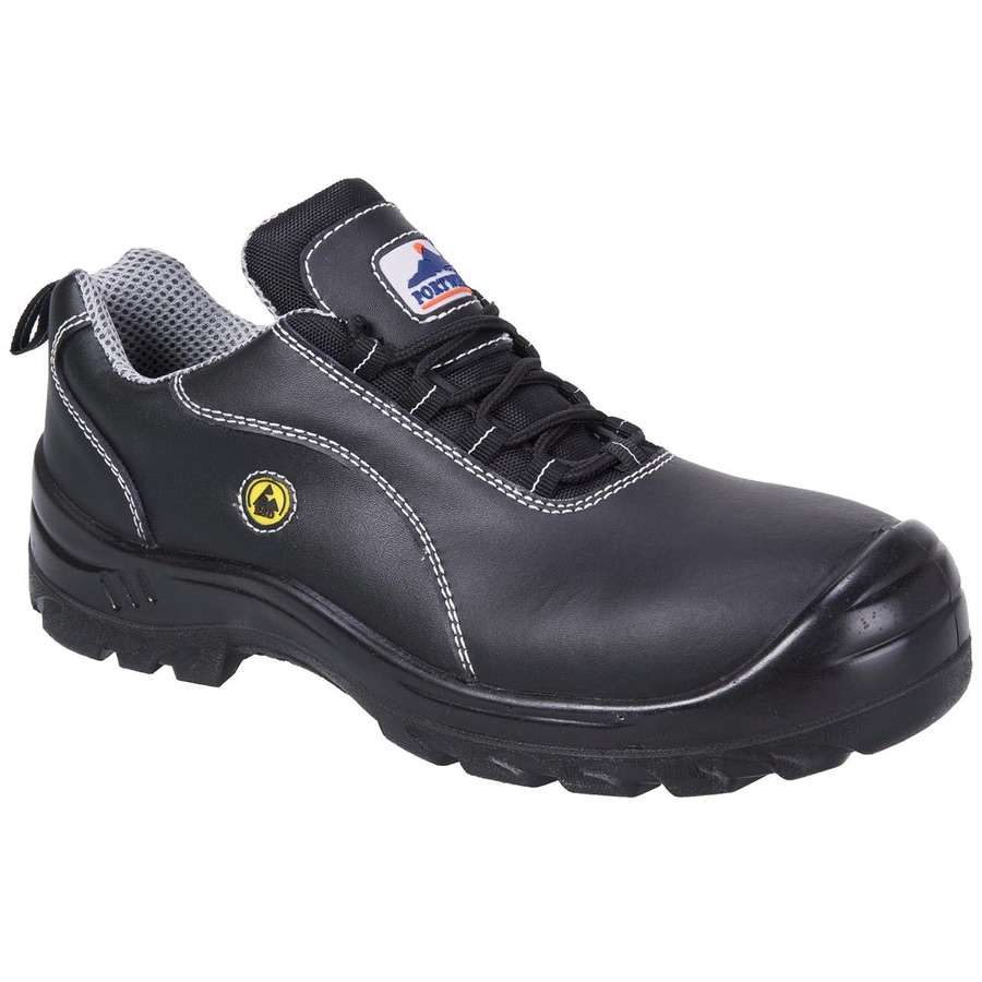 Portwest FC02 Compositelite™ ESD Leather Safety Shoe S1