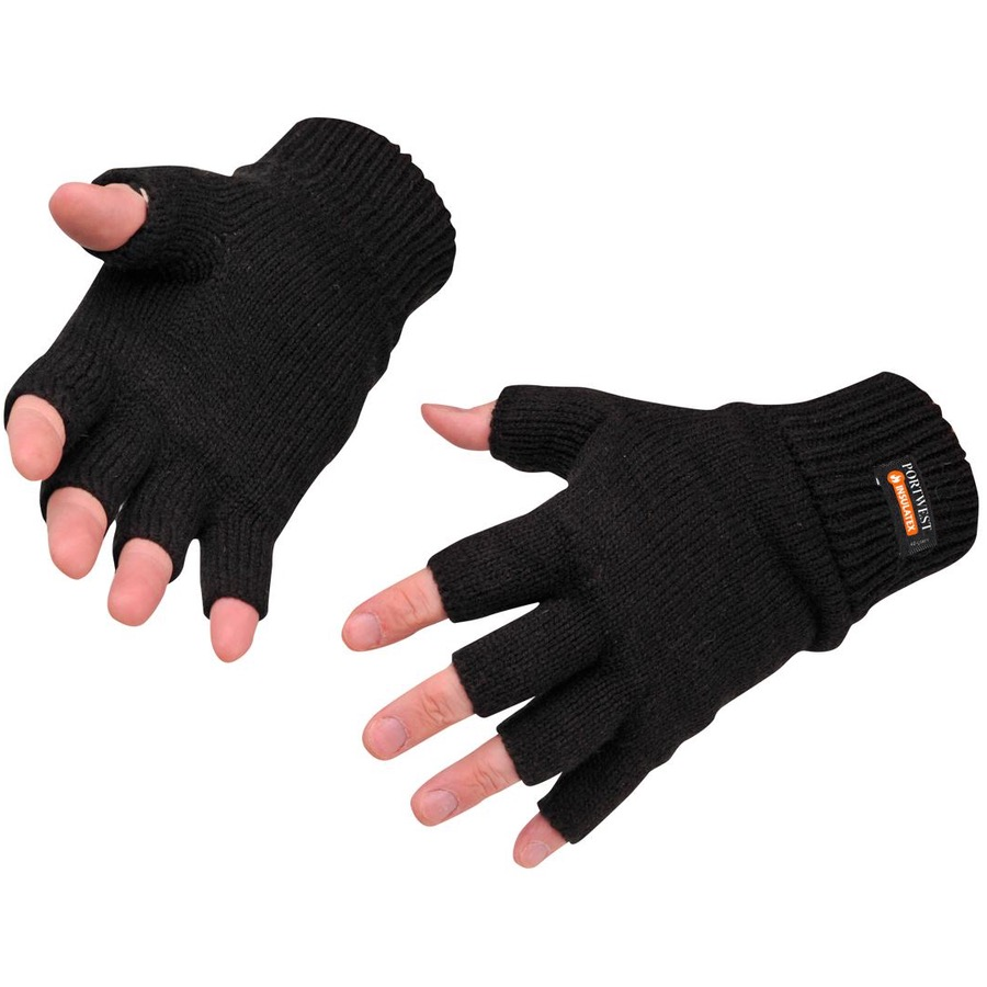 Portwest GL14 Fingerless Knit Insulatex Glove