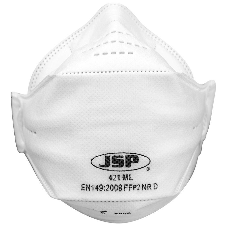 JSP Springfit FFP2 421ML X 10 | BK Safetywear