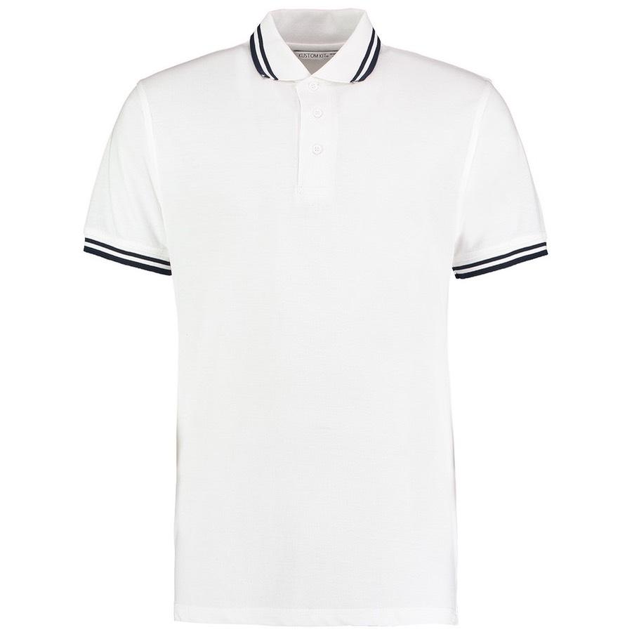 Kustom Kit KK409 Tipped Collar Polo Shirt  5fa8647cafc