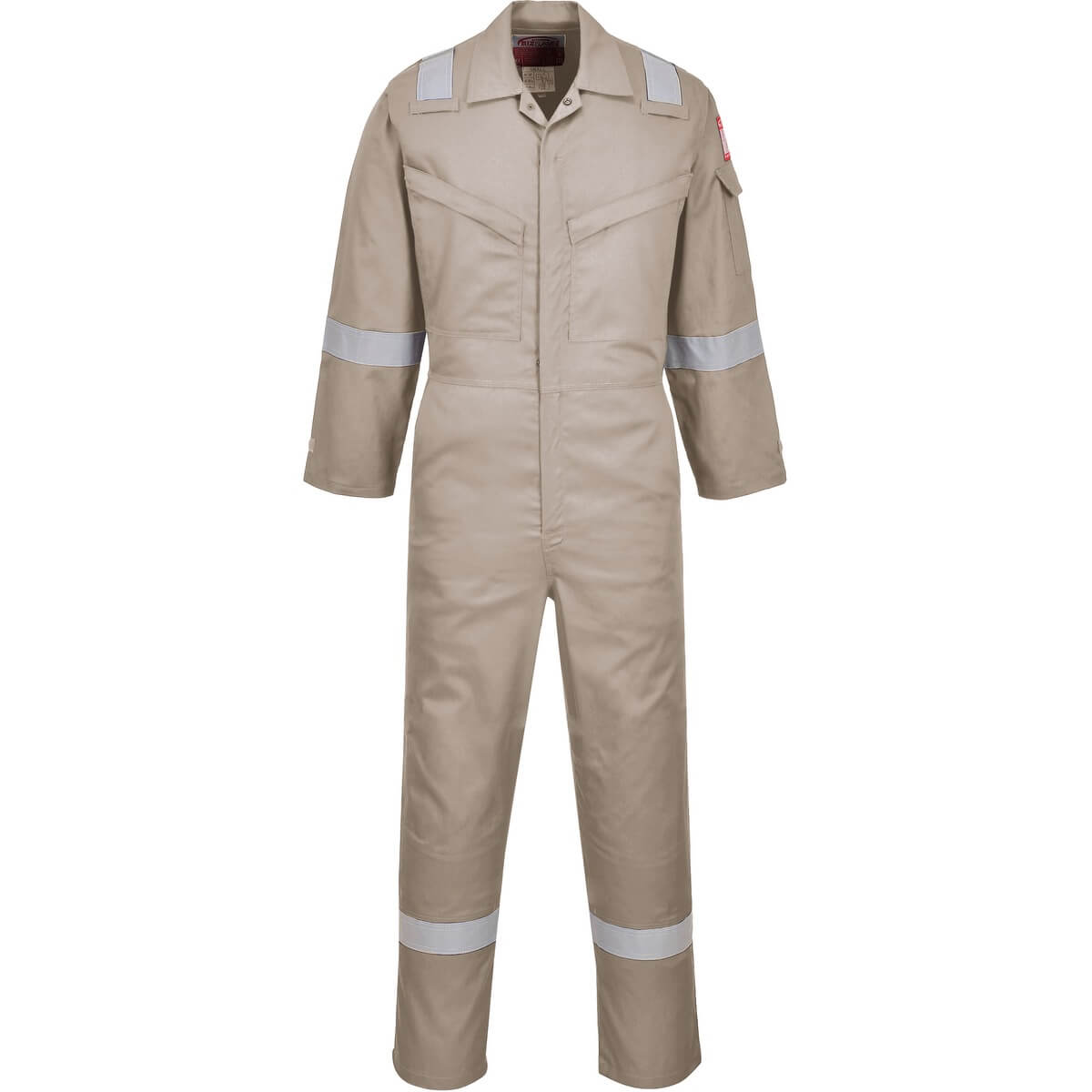 d576bf3663cd Portwest AF73 Araflame Silver Coverall