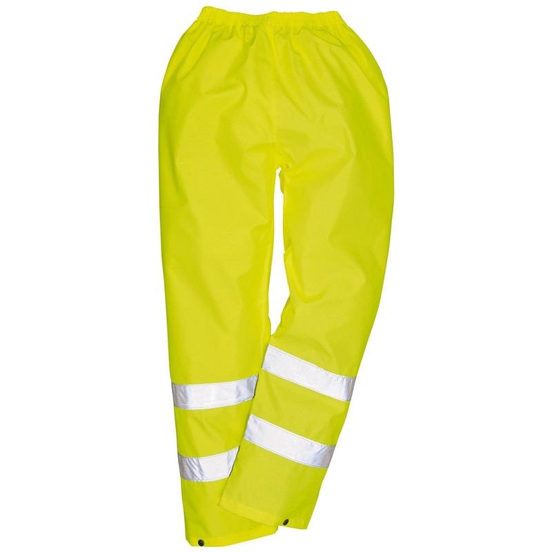 Portwest Bizflame Rain Lined Hi Vis Antistatic FR Trouser Waterproof S781