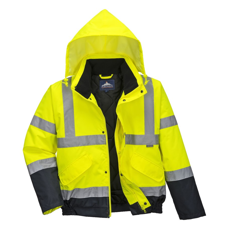 Portwest S266 Hi Vis Two Tone Bomber Jacket