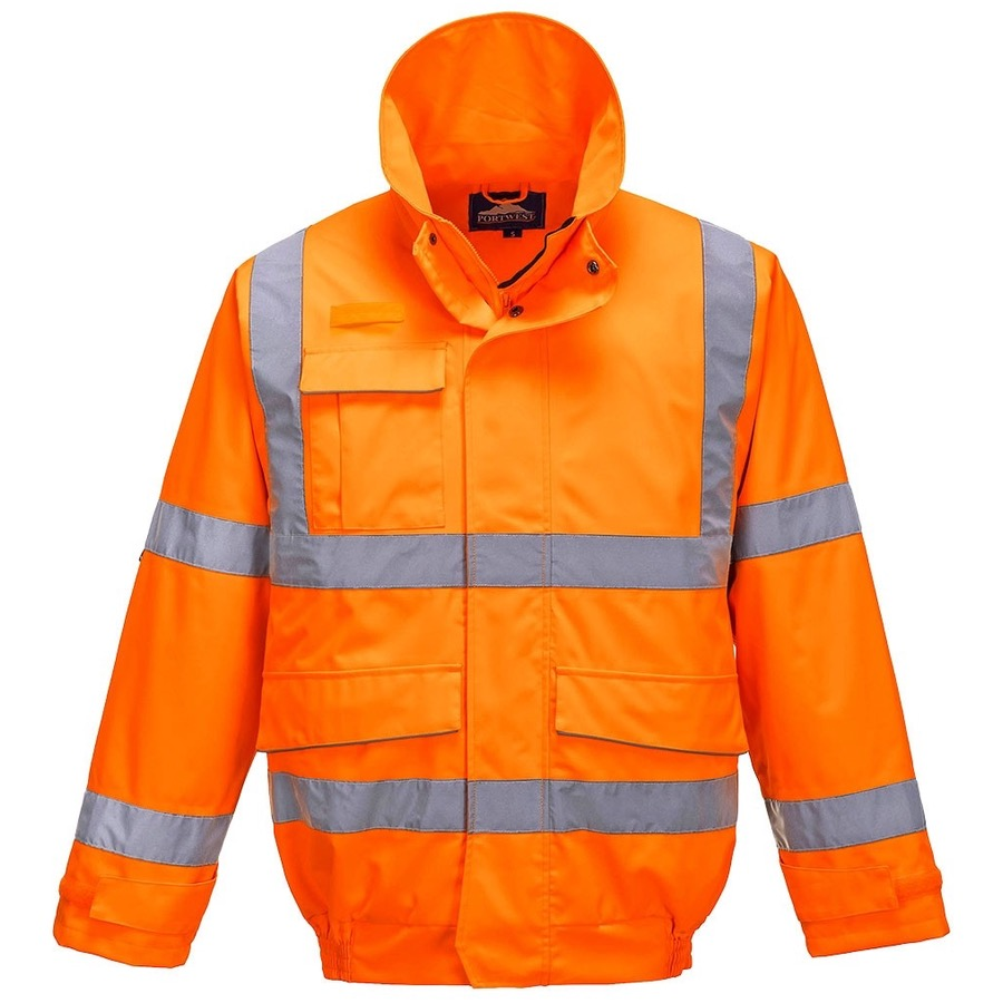 Portwest Hi-Vis Bomber Jacket Orange //XXL