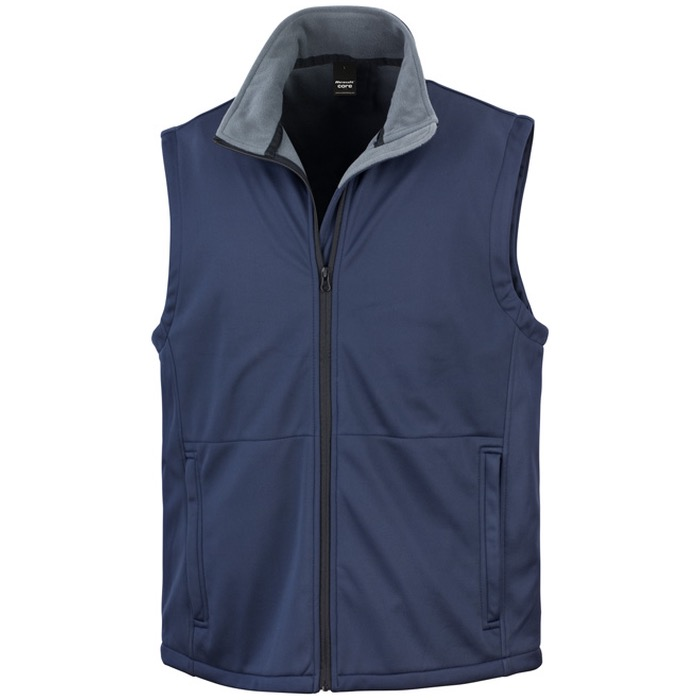 Result Clothing R214X Soft Shell Bodywarmer