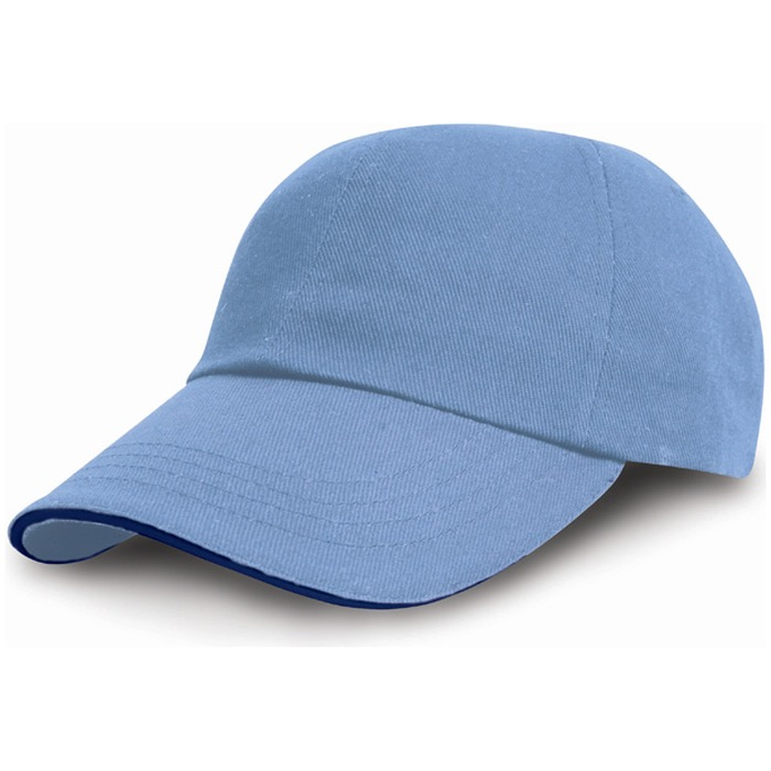 RESULT RC010P Heavy Cotton Drill Pro-Style Cap with Sandwich Peak