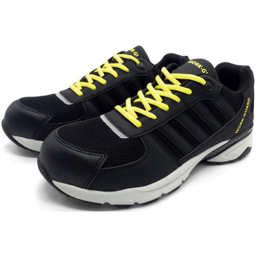 Toe Cap Lightweight Shoes R349F Result Work-Guard Women/'s Safety Trainer