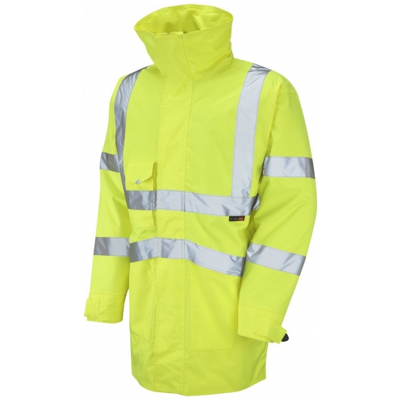 Leo Workwear A03-Y Marwood Hi Vis Superior Jacket Yellow