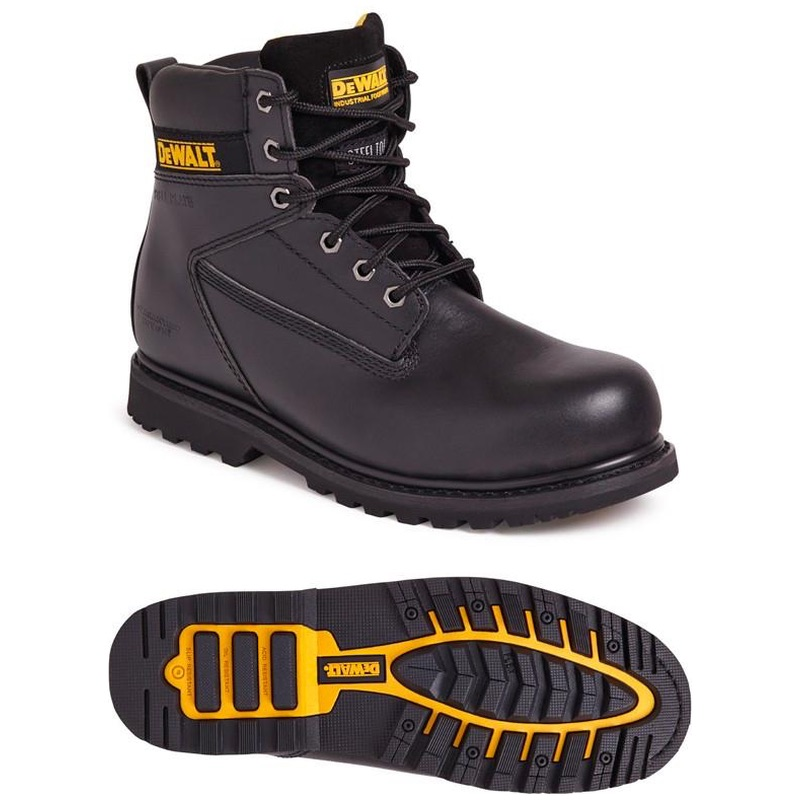 808e1e7065d Dewalt Maxi 6 inch Safety Boot Black | BK Safetywear