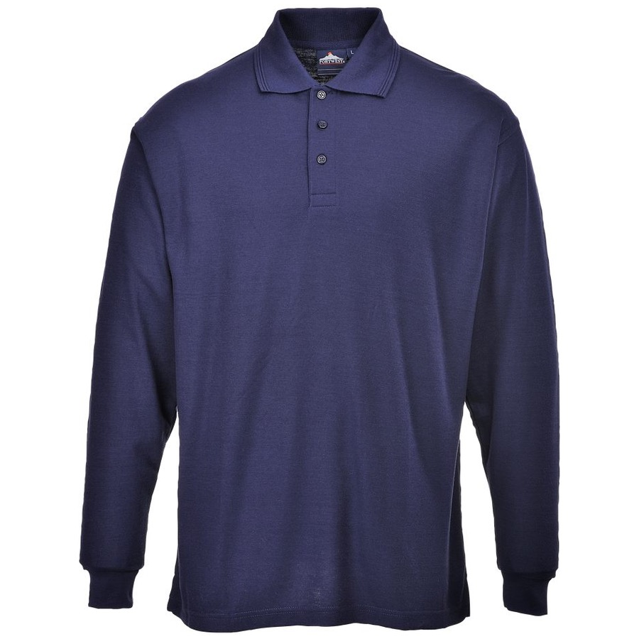 Portwest B212 Long Sleeved Polo Shirt 210gsm