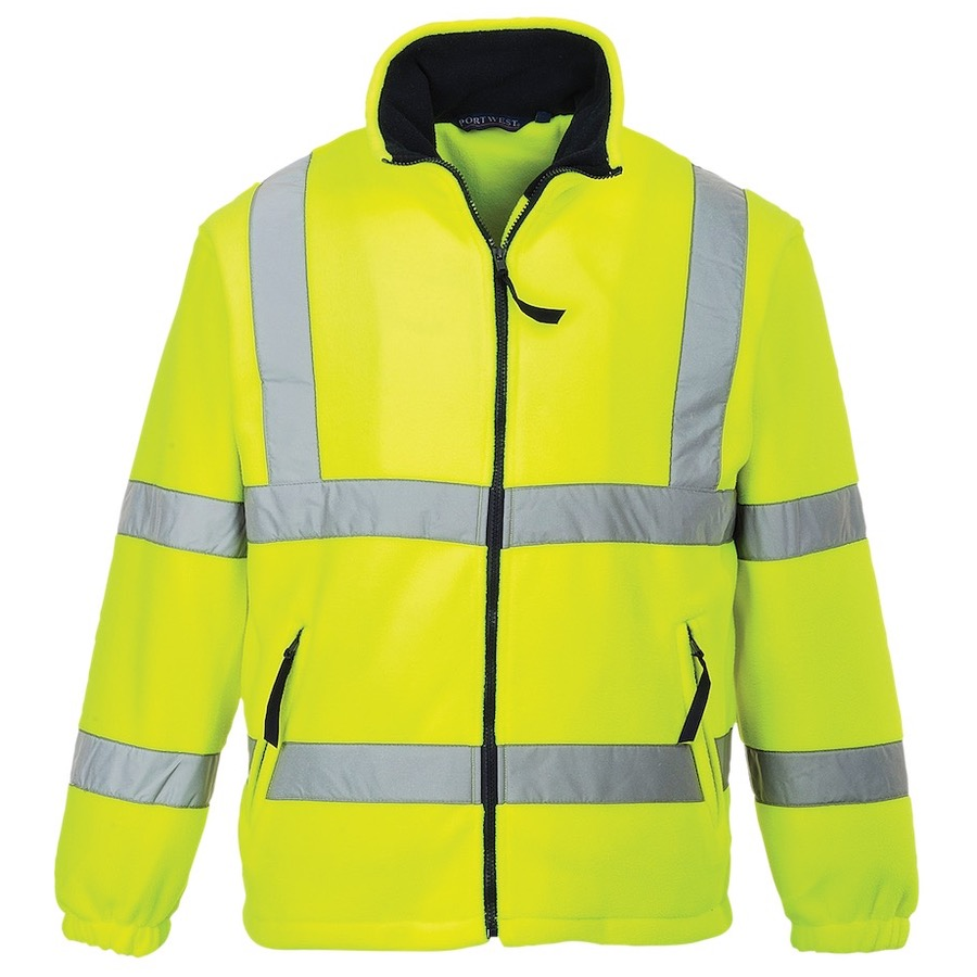 Hi Vis Fleeces Softshell Bk Safetywear