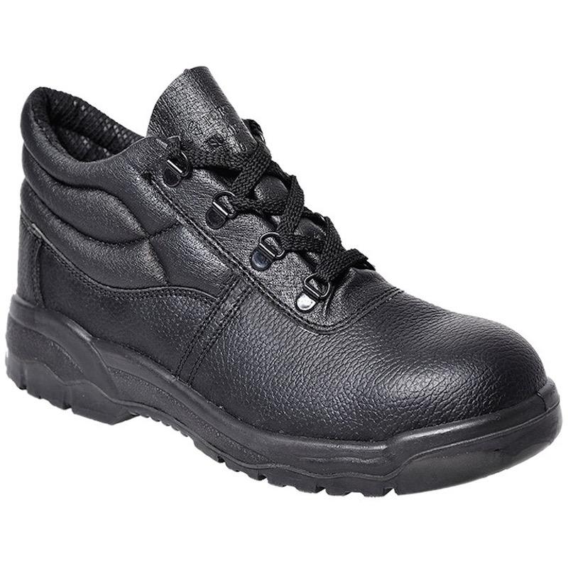 Portwest Fw10 Steelite Protector Boot S1p Bk Safetywear
