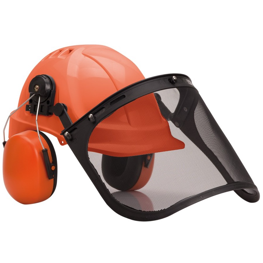 Portwest PW98 Forestry Combi Hard Hat Kit