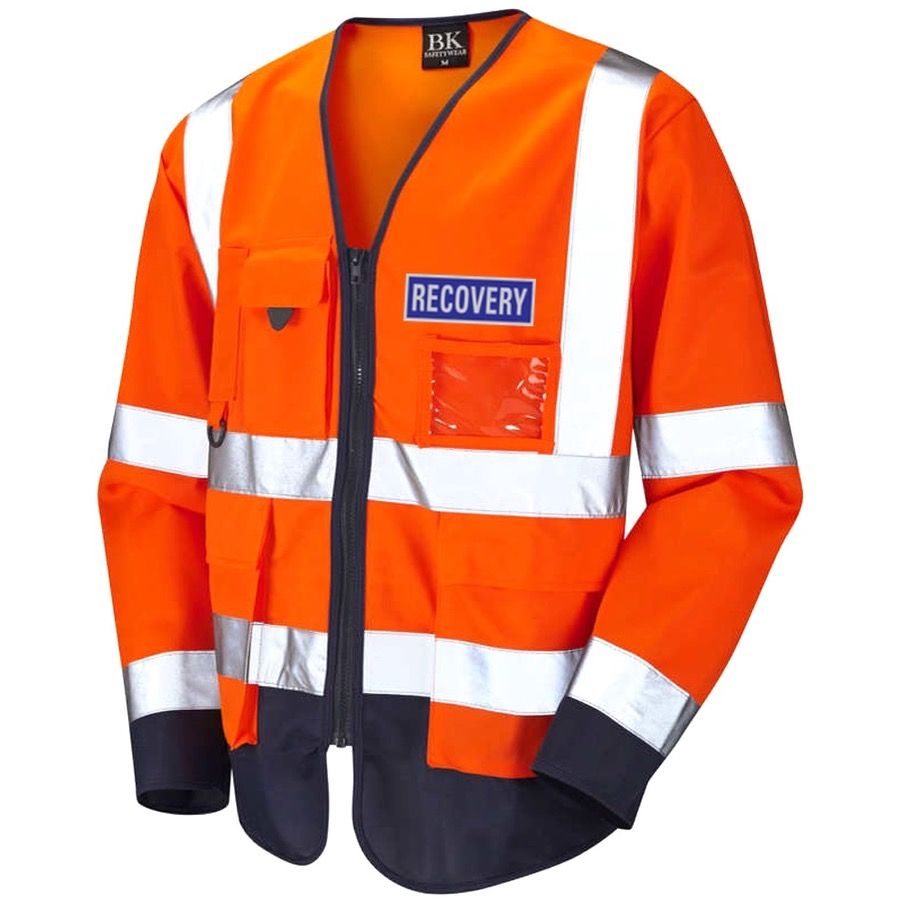 Hi Vis Recovery Workwear Class 3 Superior Sleeved ...