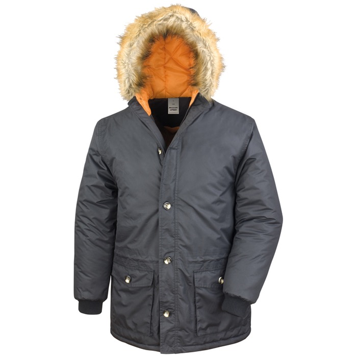 Result Work-Guard Stormdri 2000 Long Parka R062X