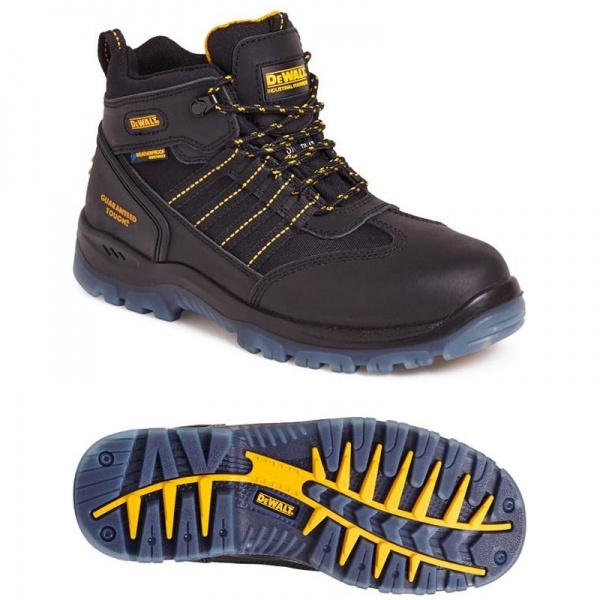 Dewalt Nickel Waterproof Safety Hiker Black