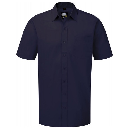 ORN Clothing Manchester 5300 Men's Premium Polycotton Short Sleeve Shirt 130gsm