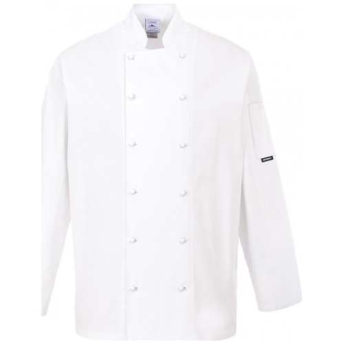 Portwest C771 Norwich Chefs Jacket