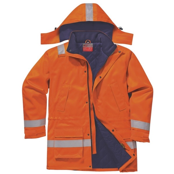 Portwest FR59 Anti Static Winter Jacket 670g