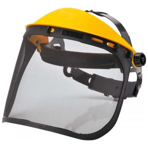 Portwest PW93 Browguard with Mesh Visor