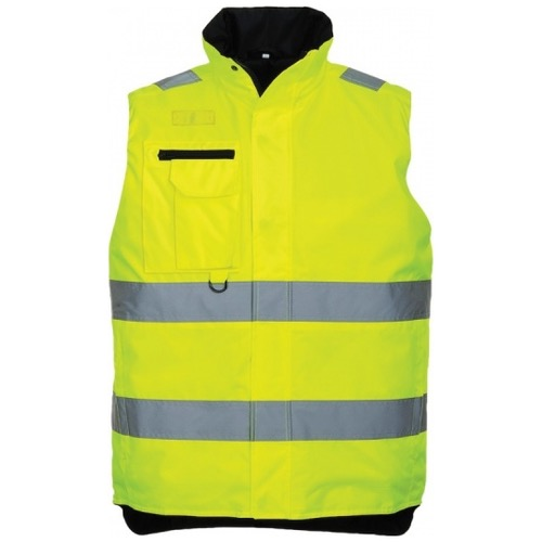 Portwest S269 Hi Vis Multi Pocket Bodywarmer