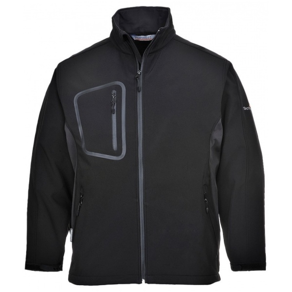 Portwest TK52 Duo Softshell Jacket Black