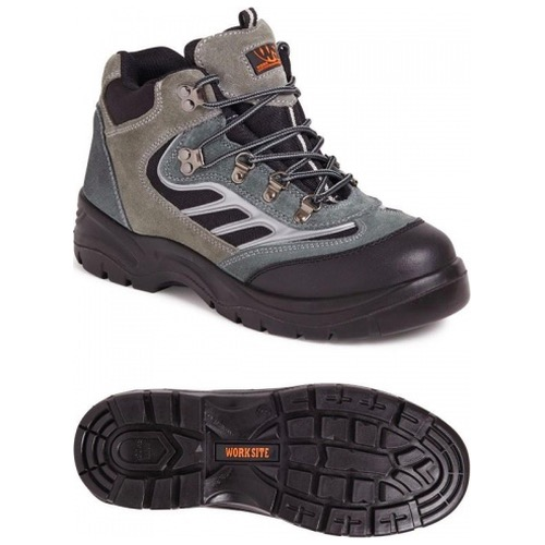 Worksite SS605SM Suede Sports Safety Boot Grey