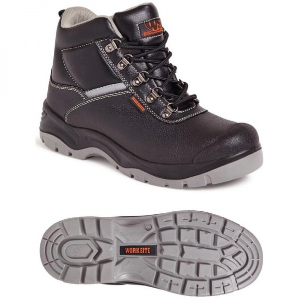 Worksite SS609SM All Terrain Safety Boot Black