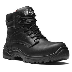 V12 Footwear V6400.01 Otter STS Black Metal Free Derby Safety Boot