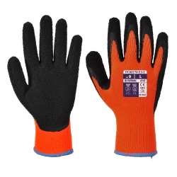 Portwest A143 Thermal Soft Grip Gloves - Latex Foam