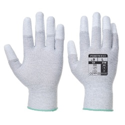 Portwest A198 Antistatic PU Fingertip Gloves