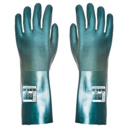 Portwest A835 Double Dipped PVC Gauntlet 35 CM