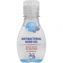 ALPI 70% Alcohol Antibacterial Hand Sanitiser Gel 100ml (single bottle)