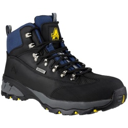Amblers Safety FS161 Waterproof Hiker Safety Boots Black