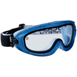 Bolle Safety ATOM ATOEDEPSI Safety Goggles Platinum Clear Sealed Double Lens
