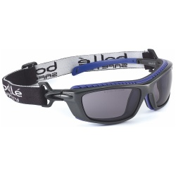 Bolle Safety BAXTER BAXPSF Safety Spectacles Platinum Smoke