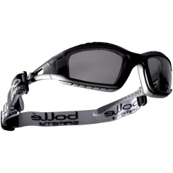 Bolle Safety TRACKER TRACPSF Safety Glasses Platinum Smoke
