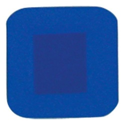 D7002 HypaPlast Blue Detectable Catering Plasters 3.8 x 3.8cm Pack of 100