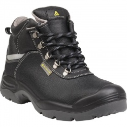 Delta Plus SAULT2 S3 SRC Pigmented Split Leather Steel Toe Cap S3 SRC Safety Boots