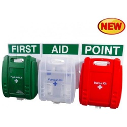 Evolution FAP37 First Aid, Eye Wash and Burns Points
