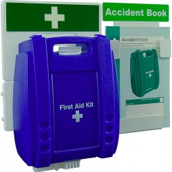 Evolution K308PB Catering First Aid & Accident Reporting Point Blue Case