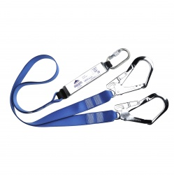 Portwest FP51 Double Webbing Lanyard With Shock Absorber