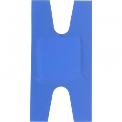 D7009 HypaPlast Blue Detectable Catering Plasters Knuckle Pack of 100