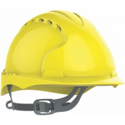 JSP EVO2 Safety Helmet with Slip Ratchet Vented