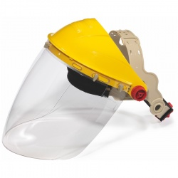 JSP Shape - Polycarbonate Visor with Ratchet Headband