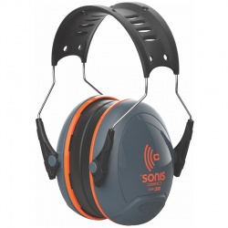 JSP Sonis Compact Low Profile Adjustable Ear Defenders 32dB SNR