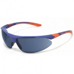 JSP Stealth 9000 Safety Spectacles - Blue Mirror HC Lens