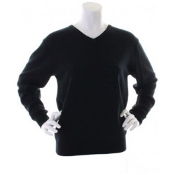 Kustom Kit KK353 Women's Arundel V Neck Sweater Long Sleeve